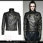 streampunk industrial revolution Outlaw rebellion leather motorcycle jacket Y701