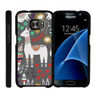 For Samsung Galaxy S7 G930 Snap On 2 Piece Case + Tempered Glass - Cute Animals