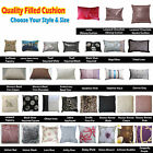 *** CLEARANCE SALE *** Quality Filled Cushion - choose, Fabric, Square or Oblong