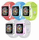 SLIM TPU GEL PROTECTION CASE COVER FOR APPLE IWATCH SMART WATCH 38MM & 42MM