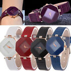 Fashion Women's Watch Faux Leather Rhinestone Quartz Analog Wrist Watch Hot