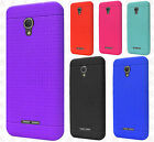 For Alcatel OneTouch Allura Rugged Rubber SILICONE Soft Gel Skin Case Cover