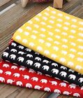 Mini elephants 100% Cotton Fabric / All sizes / Quilting fabric (ffB159)