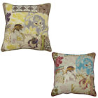 Scatter Box Geisha Floral Feather Filled Cushion, 58 x 58 Cm