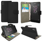 Real Genuine Leather Case For Sony Xperia Experia 1 XZ4 10 Plus L3 Wallet Flip
