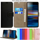Magnetic Flip Wallet Leather Stand Card Pocket Case Cover For Sony Xperia Phones