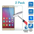 2pcs 9H Premium Tempered Glass Screen Protector Protection Guard Film for Huawei