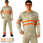 Ghostbusters Kevin Mens Fancy Dress Halloween Movie Film Adults Costume Outfit
