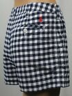 Polo Ralph Lauren Blue Checkered Shorts Red Pony Logo NWT $98