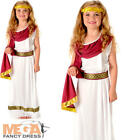 Imperial Roman Empress Girls Fancy Dress Greek Day Kids Childrens Costume
