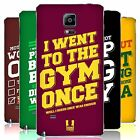 HEAD CASE DESIGNS FUNNY WORKOUT STATEMENTS BATTERY COVER FOR SAMSUNG PHONES 1