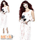 Zombie Bride Halloween Ladies Fancy Dress Adults Womens Horror Costume Outfit