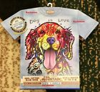 BOXED Dean Russo DOG IS LOVE T-Shirt Holiday GOLDEN RETRIEVER AUTHENTIC Mountain