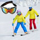 Kids Youth Snowboarding Snowmobile Professional Ski Goggles anti-glare windproof