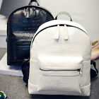 Fashion Women School  Alligator Wind Shoulder Leather Backpack Travel Bag Hot