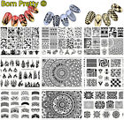 New Born Pretty Nail Art Stamping Plates Stainless Steel Image Template Tools