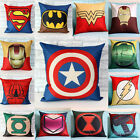 spiderman pillow - Spuerhero Star Wars Batman Cotton Linen Pillow Cases Cushion Cover Xmas Gift