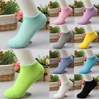 5 Pairs Ladies Low Cut Boat Short Cotton New Women Fashion Ankle Socks Gift