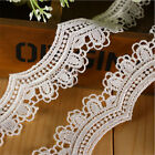 1/3/5 Yards  Polyester Embroidered Edge Lace Trim Sewing Applique Ribbon DIY