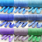 5 Yards Fold Over Elastics Polyester Satin Baby HeadBand Lace Sewing Trims DIY