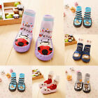 Baby Toddler Non-Slip Socks Leather Soled Moccasin Sleepers Shoes Feet Warmer
