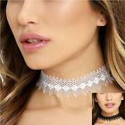 Fashion Jewelry Women Lace Chain Pendant Statement Choker Collar Bib Necklace