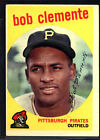 1959 Topps #478 Roberto Clemente UER The words the best run together EX *004-712