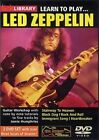 LED ZEPPELIN LEARN TO PLAY Lick Library DVD*