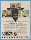 1929 Valentine's Valspar Finishes Any Room can be Modernized painting art ad