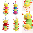 Baby Infant Pull Ring Doll Bed Stroller Hanging Plush Music Toy Christmas Gift