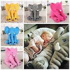 Baby Long Nose Elephant Doll Soft Plush Stuff Toys Lumbar Cushion Pillow Comfort