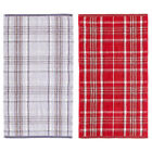Catherine Lansfield Home Heritage Check 100% Cotton Jacquard Bath Sheet
