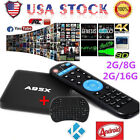 US Stock 4K S905X A95X Smart TV Box Android Quad Core  WIFI + Keyboard