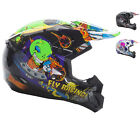 Fly Racing 2017 Kinetic Invazion Youth Motocross Helmet Junior Off Road MX Dirt