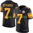 BEN ROETHLISBERGER Pittsburgh STEELERS Limited COLOR RUSH Throwback Jersey S-3XL