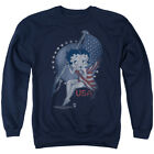 Betty 1930's Boop Cartoon American Icon Proud Betty Adult Crewneck Sweatshirt $46.37 CAD on eBay