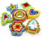 Plastic Nesting Bright Color Cookie Cutters Set - Many sets to choose from