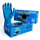 Blue Mamba Industrial Super Strong Nitrile Gloves