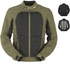 Furygan Genesis Mistral Evo Motorcycle Jacket CE Armour Textile Mesh Summer Mens