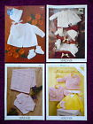 Sirdar Baby's Knitting Patterns Coats, Bootees - Choose from Drop-down Menu