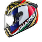 Shark Race-R Pro Carbon Zarco Replica Motorcycle Motorbike Bike Full Face Helmet