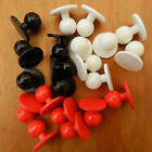 5 X chefs buttons size 18mm size 28  red black or white