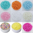 1000 Pcs 2mm Czech Glass Pearl Seed Loose Spacer Beads Jewelry DIY Craft