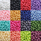 Wholesale Glass Pearl Round Spacer Loose Beads 4mm/6mm/8mm/10mm Hot Sale