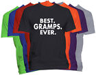 BEST GRAMPS EVER T-Shirt GRAMPS Holiday Christmas Gift Family Nickname Tee