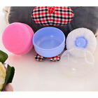 Cosmetic Tool Baby Soft Face  Cute Body Powder Puff Sponge Box Container Case