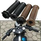 7/8'' Motorcycle Handlebar Hand Grips Bar End For Cafe Racer Clubman Custom