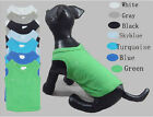 Dog Clothes Plain T Shirt Vest Tank Tee for Dog Puppy C1184-1190