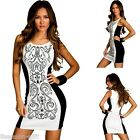 HXMagic New Women Ladies Fashion Formal Party Pencil Cocktail Bodycon Sexy Dress