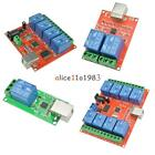 5V/10V USB Relay 1/2/4/8 ChProgrammable Computer Control Relay For Smart Home US